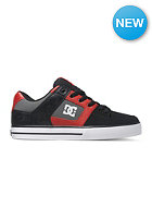 DC Pure black/athletic red