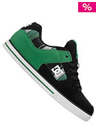 DC Pure Slim XE black/green plaid
