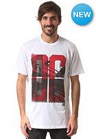DC Railing S/S T-Shirt star white - solid
