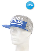 DC RD Bar Snapback Cap royal blue