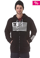DC RD Flag Hooded Zip Sweat anthracite - solid
