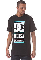 DC RD Lockup S/S T-Shirt black