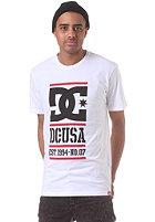 DC RD Lockup S/S T-Shirt white