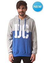 DC RD Stencil Hooded Sweat h. grey speckle print
