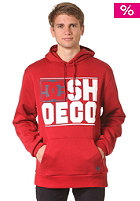 DC Rebar 2 PH Hooded Sweat deep red