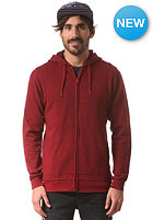 DC Rebel 2 Hooded Zip Sweat jester red - solid
