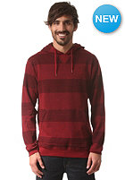DC Rebel Stri 2 Hooded Sweat jester red - solid