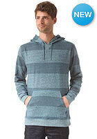 DC Rebel Stripe Hooded Sweat heath bluestone