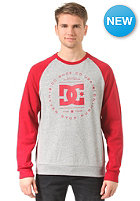 DC Rebuilt Crew RA Shirt jester red - solid