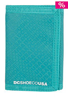 DC Ripstop 5 Tri Fold Wallet teal