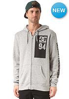 DC Rolling Hooded Zip Sweat heather grey