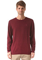 DC Sabotage Knitted Sweat zinfandel