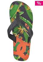 DC Snap Graffik Sandals black/flames