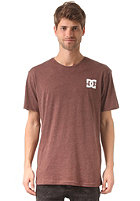 DC Solo Star S/S T-Shirt heather red rum