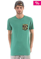DC Spaceport Crew S/S T-Shirt bottle green
