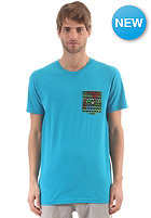 DC Spaceport Crew S/S T-Shirt caribbean sea