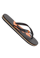 DC Spray Graffik Sandals black/orange