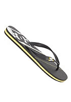 DC Spray Graffik Sandals black/yellow