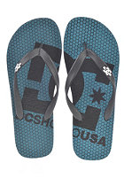 DC Spray Logo Sandals ocean depths