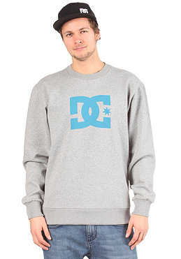 DC Star 1 Crew Sweatshirt heather grey/celtic blue