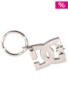 DC Star Keyring silver
