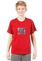 DC Star S/S T-Shirt deep red