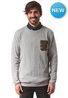 DC Suburban Crew Shirt steel gray - heather