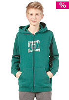 DC Training Day Hooded Zip Sweat evergreen
