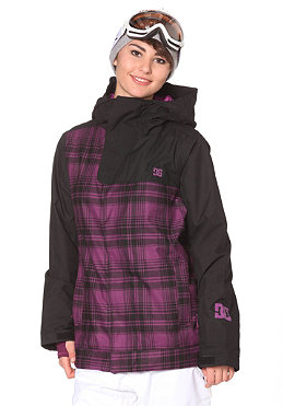 DC Womens Chapa Jacket 2012 dark dark purple/black