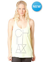 DC Womens Chillax Tank Top neon lights