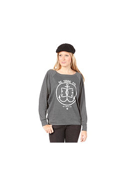 DC Womens Nautical Star Crew S/S T-Shirt dark shadow