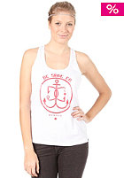 DC Womens Nautical Tank Top optic white