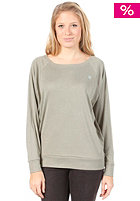 DC Womens New Logo Crew S/S T-Shirt light olive
