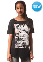 DC Womens Raw Tiga S/S T-Shirt anthracite - solid