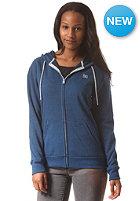 DC Womens Rebel Star 2 Hooded Zip Sweat snorkel blue - solid