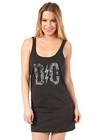 DC Womens Rose Logo Dress black