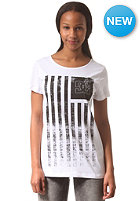 DC Womens Solid S/S T-Shirt star white - solid