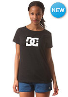 DC Womens Star S/S T-Shirt anthracite - solid