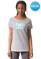 DC Womens Star S/S T-Shirt steel gray - heather