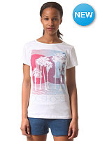 DC Womens Tourista S/S T-Shirt star white - solid