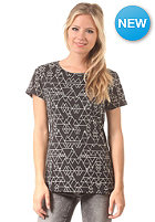 DC Womens Triangle Maze S/S T-Shirt black