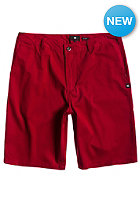 DC Worker EU Chino Short deep red