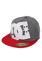 DC Ya Heard 2 Flexfit Cap white/grey/red