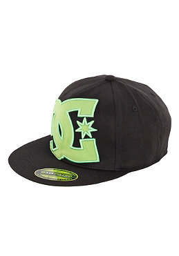 DC Ya Heard Flexfit Cap black/green