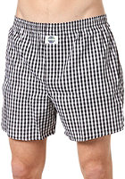DEAL Check Boxershort orig.schwarz / wei