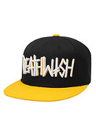 DEATHWISH Deathspray Snapback Cap black/yellow