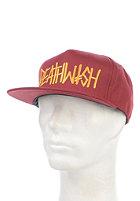 DEATHWISH Deathspray Snapback Cap garnet/yellow
