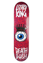 DEATHWISH Deck Crowned Eye Lizard King 8.1 pink