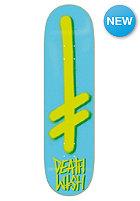 DEATHWISH Deck Gang Logo 7.7 cyan/neon