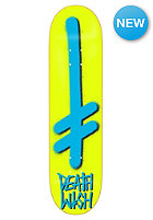 DEATHWISH Deck Gang Logo 7.8 yellow/blue